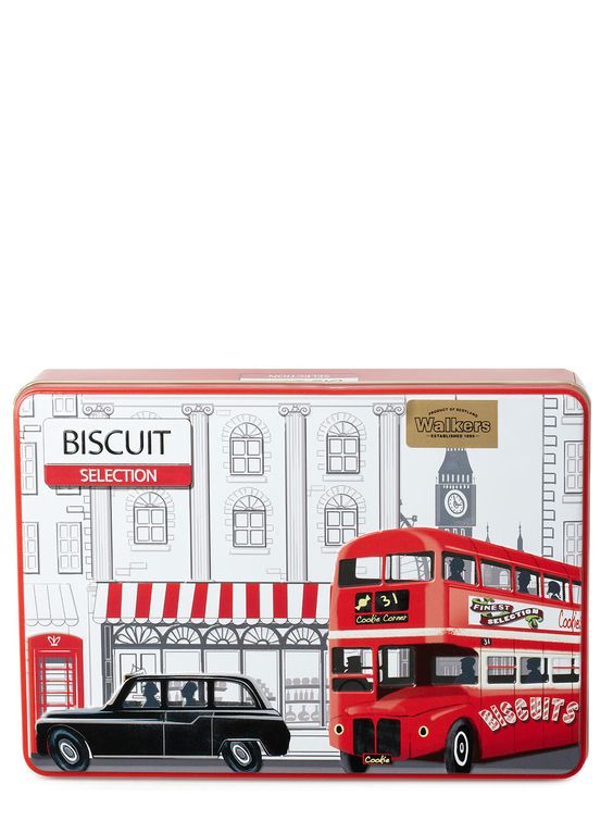 London Scene Biscuit Tin - food gifts - gift sale - Gifts - BHS