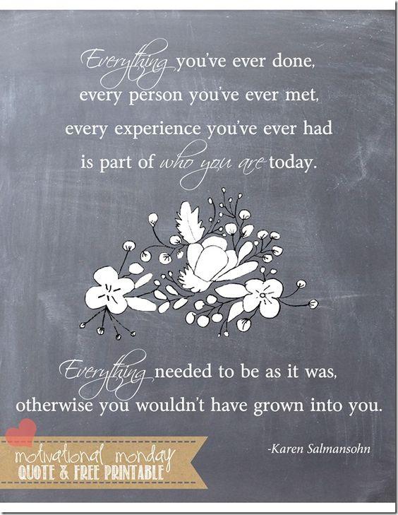 Everything (Salmansohn) | Mama Miss #motivationalmonday #quote #freeprintable