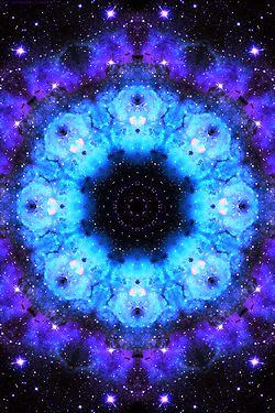 purple orange space galaxy painting - photo #35