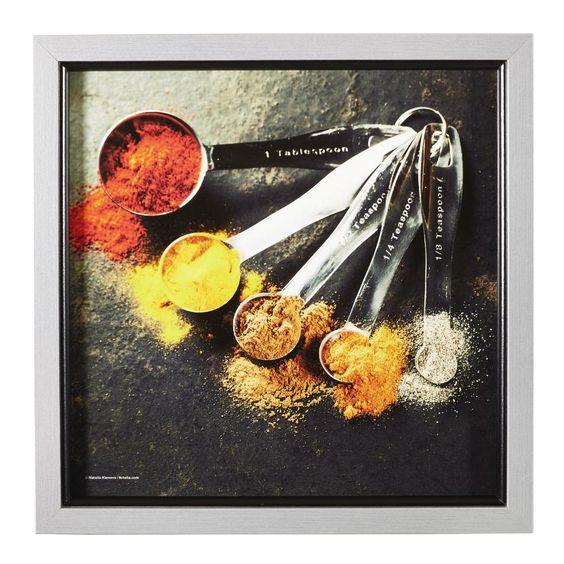 Wandbild für Ihre Küche aromatische Gewürze inspirieren beim - wandbilder f r die k che
