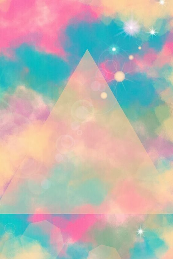 Rainbow Triangle Clouds | Backgrounds/Wallpapers ...