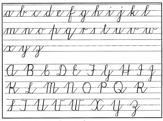 Cursive Handwriting Practice Worksheets South Africa ...
