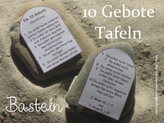 Https Christlicheperlen Wordpress Com Category Zehn Gebote Zehn Gebote Gebote 10 Gebote Kinder