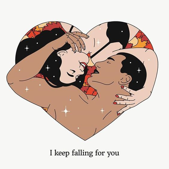 I keep falling for you