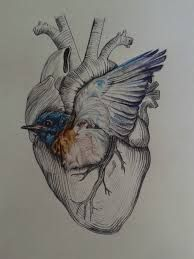 Bluebird charles bukowski pesquisa google pintando el for Gilded heart tattoo