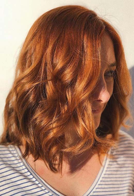 57 Flaming Copper Hair Color Ideas For Every Skin Tone Short
