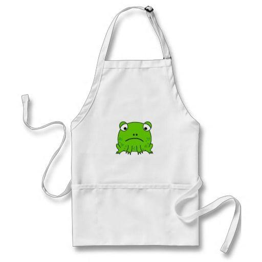 Sad Frog Apron