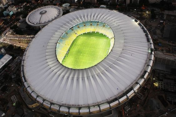 Maracanã: World Cup Venue 2014 - Design by Fernandes/Arquitetos Associados. #worldcup2014 #brazil #riodejaniero #architecture #interior #design #football