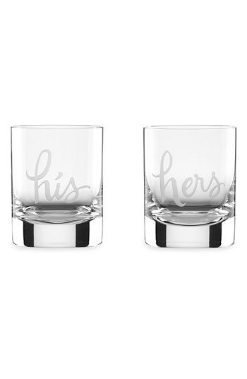 Kate Spade New York - Two of a Kind Glasses $50.00 Set of 2