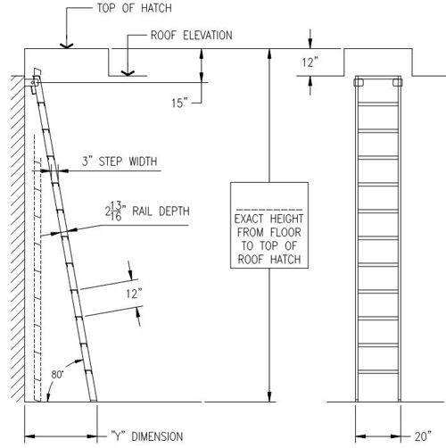 Reaching The Roof: Specifying Fixed Access Aluminum Ladders For ... |  Purpose | Pinterest | Aluminium Ladder, Folding Ladder And Loft Ideas