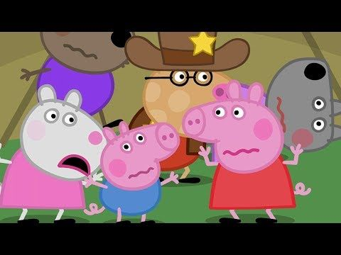 Peppa Pig English Episodes Peppa Pig S Night Time In The Tent