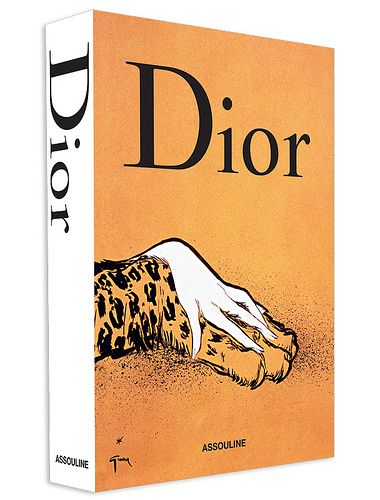 Obsessed with Assouline's new Dior book cover.