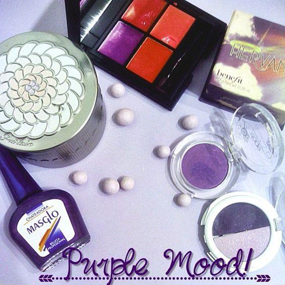 ¿Eres de morados? // purple mood!