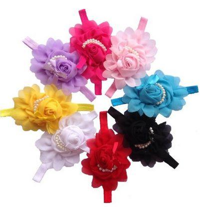 s chiffon flower headbands only 1 04 each s chiffon flower headbands only 1 04 each