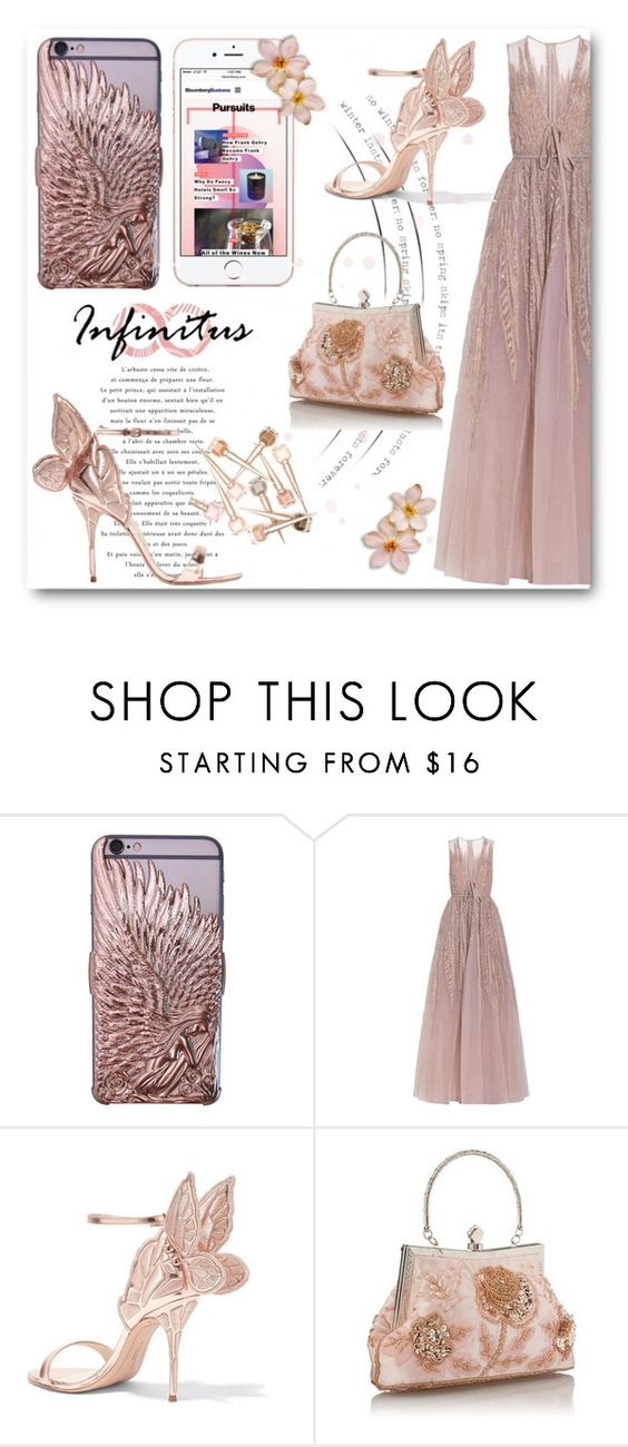 """""""Infinitus"""" by aysebt ❤ liked on Polyvore featuring Elie Saab, Sophia Webster, infinituscases and loweinfinituscases"""