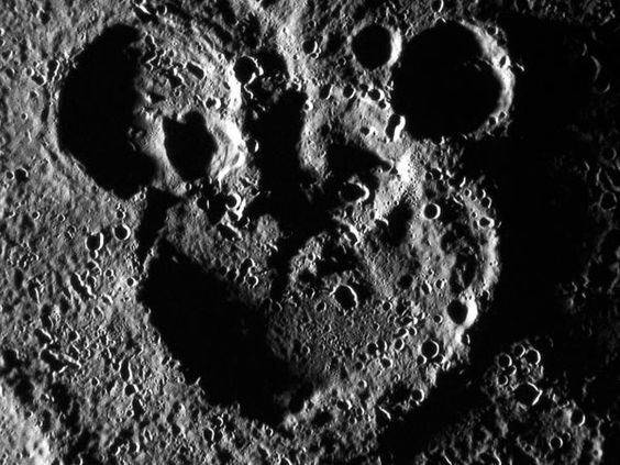 mickey mouse craters on Mercury. -NG-