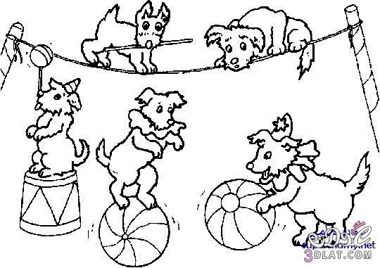 رسومات للتلوين رسومات المهرج وابطال السيرك للتلوين رسومات للاطفال للتلوين Dinosaur Coloring Pages Animal Coloring Pages Preschool Coloring Pages
