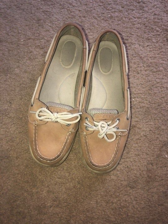 sperry size 8.5 womens shoes good