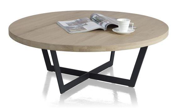 Seneca salontafel rond 100 cm salontafel pinterest for Salontafel rond design