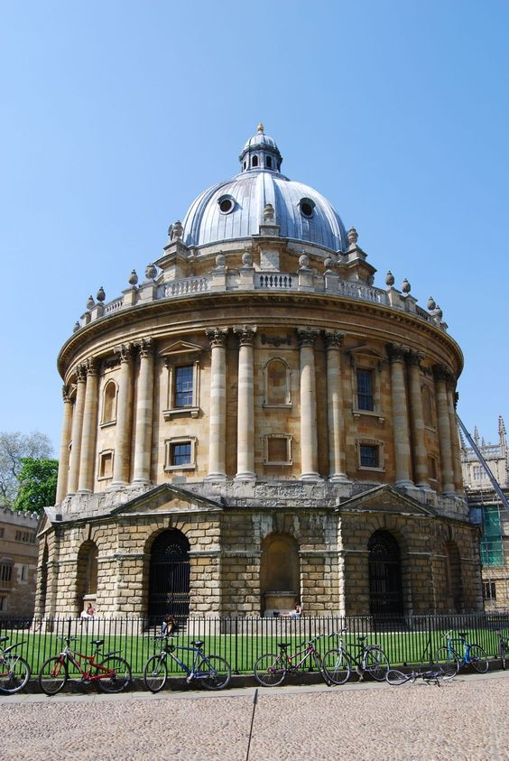 Bodleian Library, Oxford, UK. The main research library of the University of Oxford,it  is one of the oldest libraries in Europe, and in Britain is second in size only to the British Library with over 11 million items.