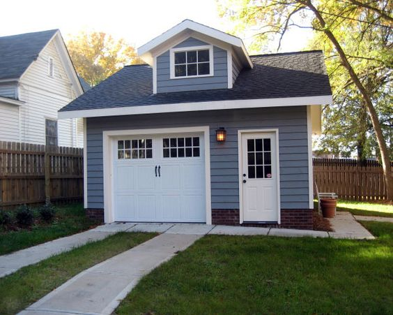 Detached Garage Garage And Garage Doors On Pinterest