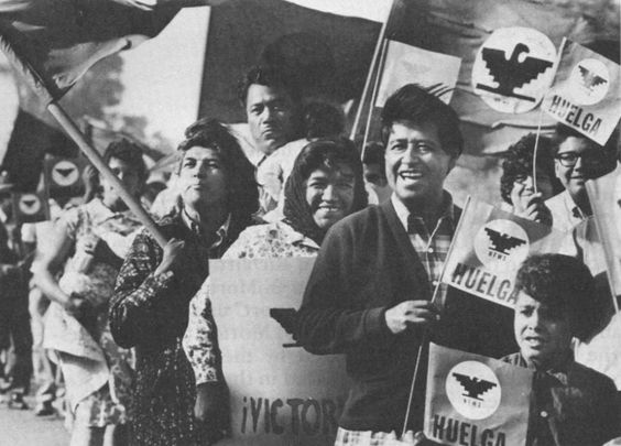 Cesar Chavez: Founder, United Farm Workers.