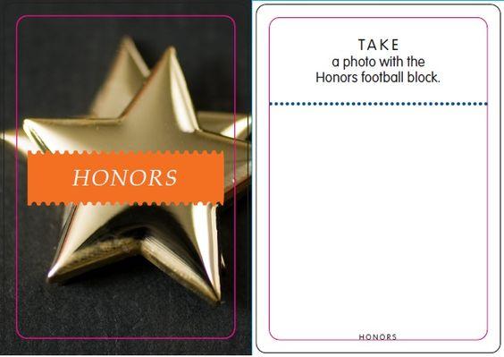 Honors: Football Block