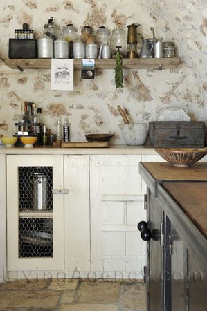Really Rustic Kitchen Designs Charming Cottage Kitchen