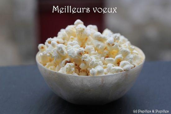 Pop corn salé, sucré, épicé