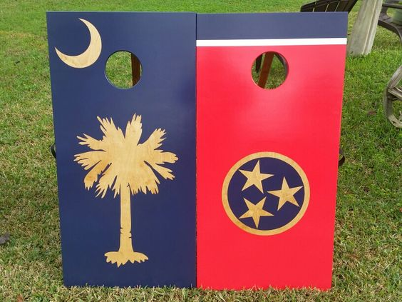 SC and TN flag set.