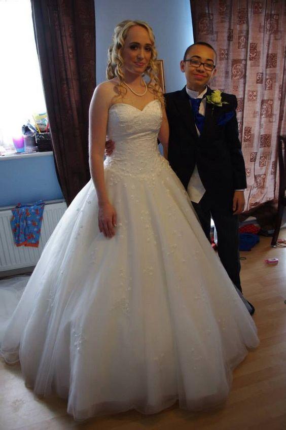 Princess wedding dress :D