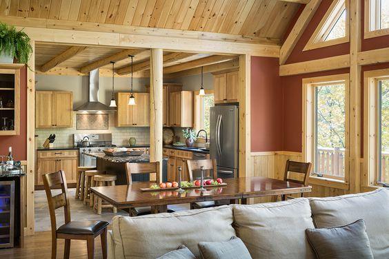 Katahdin Cedar Log Homes: Rediker – 13061