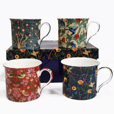 Check this out!! The Kitchen Gift Company have some great deals on Kitchen Gadgets & Gifts William Morris Mugs - Set of 4 #kitchengiftco