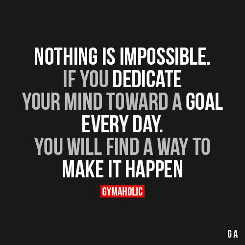 Nothing Is Impossible:
