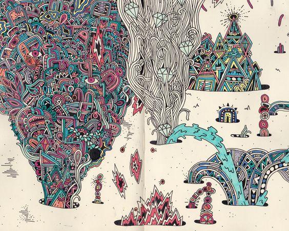 Sketchbook Selections - Sophie Roach