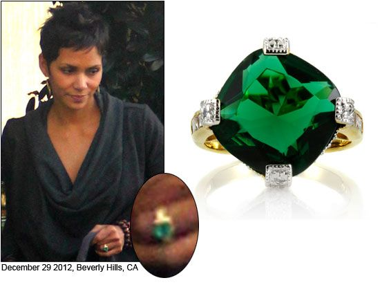 style jewelry halle berry s engagement ring