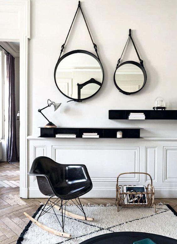 Tendencia Blanco y Negro en la Decoración  #decor #blackandwhite