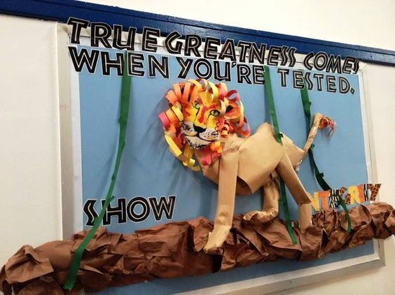 Lion bulletin boards - Google Search                                                                                                                                                      More