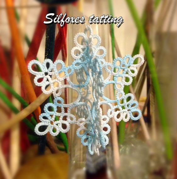fiocco 3D | Silfoxes tatting