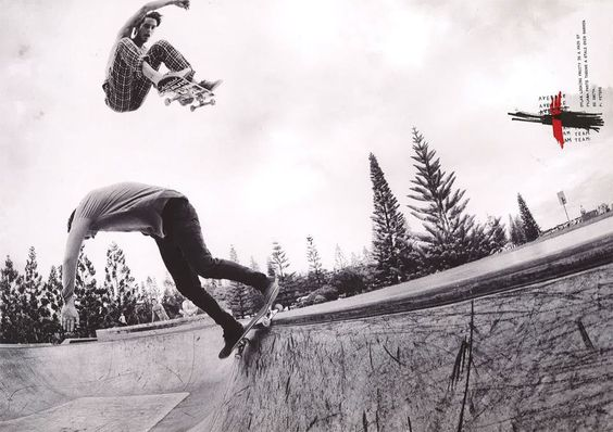 Follow us on Pinterest for cool photos on #skate and #bmx