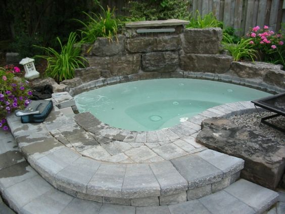 whirlpool im garten - gönnen sie sich diese besonde art, Garten und bauen