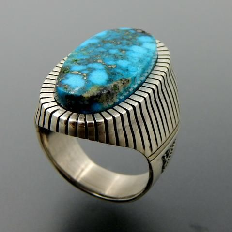 vintage Navajo sterling silver coral turquoise feather ring  sz 6,5  silver ring 925 silver jewelry gemstone ring