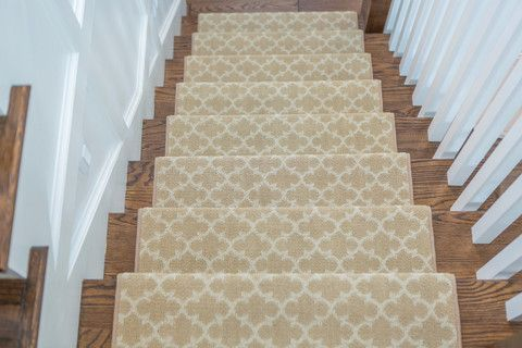 Dover Adhesive Bullnose Carpet Stair Tread Stairs
