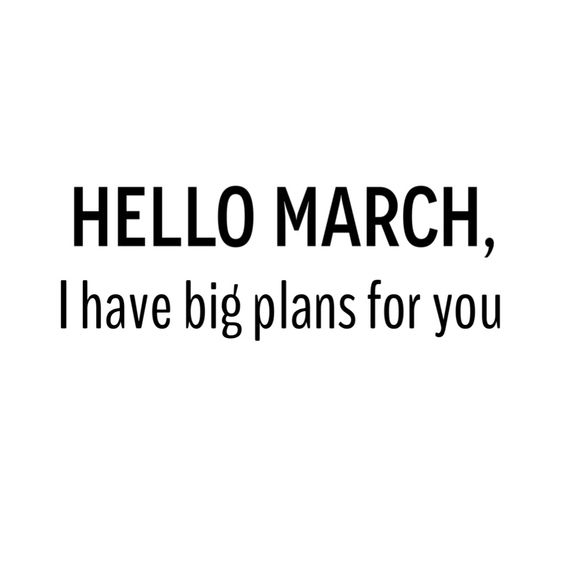 March ❥: