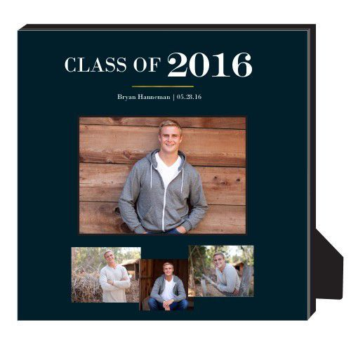 Classic Grad Personalized Frame, - No photo insert, 11.5 x 11.5 Personalized Frame, DynamicColor