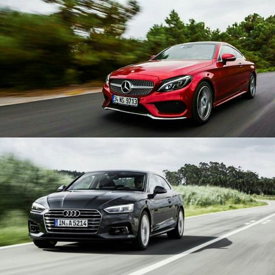 Le match de la séduction: #Mercedes classe C coupé vs #Audi A5 coupé - http://ift.tt/1HQJd81