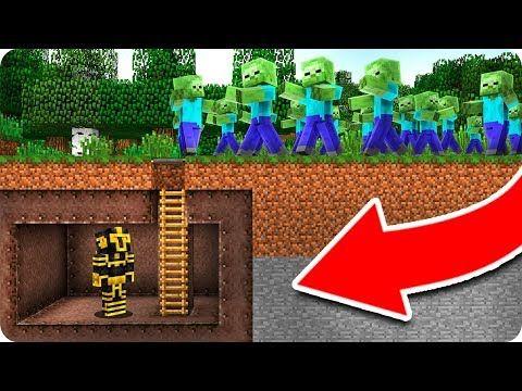 Base Secreta Vs Apocalipsis Zombie En Minecraft Youtube Minecraft Instagram