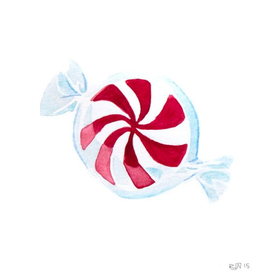 Peppermint Candy 8x10 Print  Archival Quality by EmergingEminence
