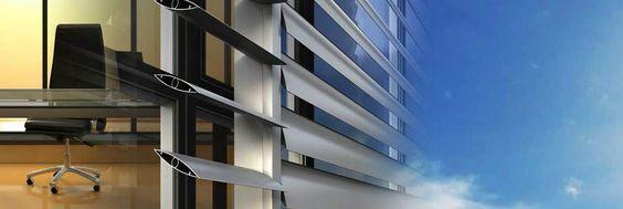 Sistemi di ombreggiatura per la protezione solare degli edifici Alumil M5660 #pergola, soluzione innovativa di moderno design per #coperture di ambienti esterni che permettono un assoluto controllo dell' #ombreggiatura e della tenuta all'acqua.