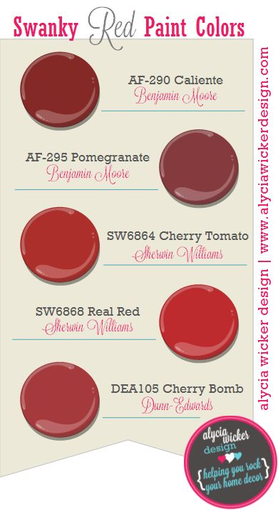Looking for the perfect red paint color why not try one for Perfect paint color for kitchen
